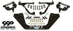 64-66 Ford Mustang Cpp Mini Subframe Kit Tubular Upper And Lower A Arms USA Made