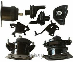 8pc Engine And Transmission Mount With Subframe Mount 2004-2006 Acura Tsx 2.4l