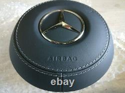 Airbag Mercedes W177 W205 W213 W222 Facelift Leather Dual Stage New