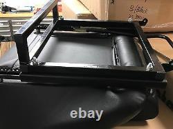 BB1 RS Black / White Piping Sports Bucket Seats + Tilting Subframe CLASSIC MINI