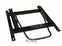 BB6 DEFENDER 90 110 Seats Black Soft Grain Faux Leather + Subframes PAIR
