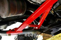 BMR 15-17 S550 Mustang Front 4-Point Subframe Chassis Brace Red