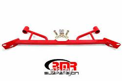 BMR Chassis Brace Front Subframe 4point For Ford 15-20 EcoBoost GT GT350 Mustang