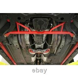 BMR Suspension Front Subframe Brace Red for Ford Mustang 2015-2019