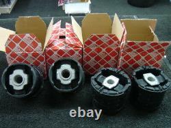 BMW X5 E53 3.0i 3.0D 4.4 REAR SUBFRAME BUSH FRONT REAR SET 4 BRAND NEW FEBI