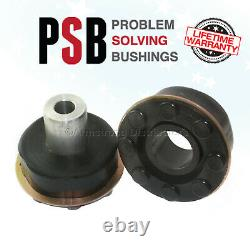 BMW X5 (E53) Rear Sub Frame Polyurethane Bushing Kit (01-06) BLACK -PSB 648