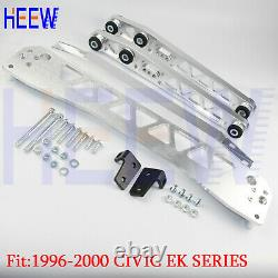 Billet Rear Lower Control Arm Subframe Brace Tie Bar Honda CIVIC Ek 96-00 Bwr Sw