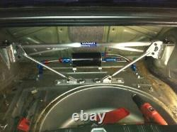 Bmw Mason Eng. E30 Race Spec Rear 3 Pc Tower Bar & Diff. Floor Support