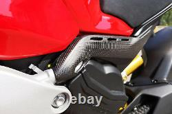 Ducati Panigale V4 / S CNC Racing Rear subframe covers Matt Carbon Racing Motogp