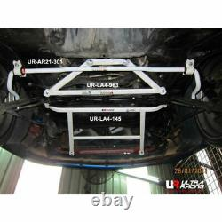Fit 90-95 Toyota MR2 SW20 Ultra Racing 4 Points Front Lower Bar Subframe Brace
