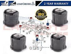 For Bmw X5 X6 E70 E71 F15 F16 2007- Rear Subframe Bushes Bush Set 33316784940