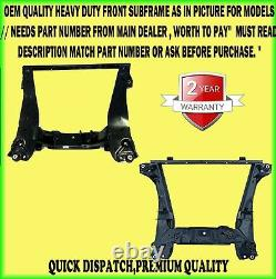 Front Subframe Cross Member Axle For Ford Mondeo Mk3 2000-2007 Match # 1454057