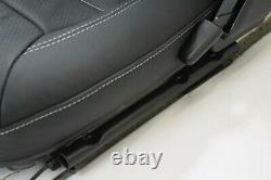 LRI leather heated sport front seats subframes Fit Land Rover Defender 90/110