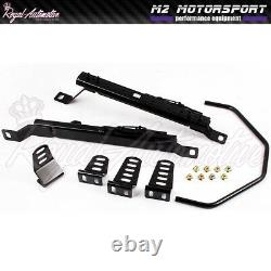 Low Mount Bucket Seat Frame Rail Subframe for Nissan 350Z Pair Left Right