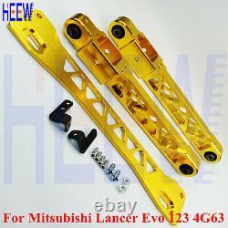 Lower Control Arm Subframe Brace Rear Kit For Mitsubishi Lancer EVO 1 2 3 4G63 T
