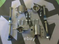 MGTF MG TF 4x Uprated Stainless Front Subframe Front + Rear Mounts & Bolts Kit