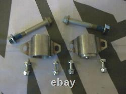 MGTF MG TF 4x Uprated Stainless Rear Subframe Front + Rear Mounts & Bolts Kit