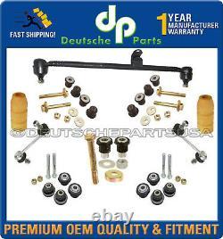 Mercedes R107 350SL Subframe Control Arm Bushing Drag LInk SUSPENSION KIT 13pc