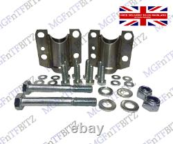 Mg Tf 135 Uprated Stainless Subframe Mounts Kge000110 / Kge000071 Front Subframe