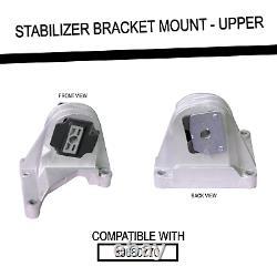 Motor + Subframe Mount Torque Rod Stabilizer Bracket For Volvo S60 V70 Xc70 Xc90