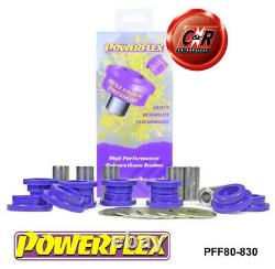 Opel Astra H (04-10) Powerflex Front Subframe Bushes PFF80-830
