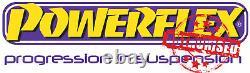 PFR5-722 Powerflex Rear Subframe Rear Mounting Bushes ROAD SERIES (2 in Box)