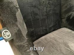 Pair BB1 Suede Alcantara Classic Clubman Bucket Seats + Subframes CLASSIC MINI