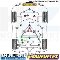 Powerflex Rear Diff Front/Rear + Rear Subframe Front/Rear Bushes Kit BMW E46