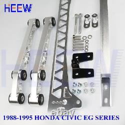 Rear Lower Control Arm Subframe Brace Tie Bar Lca For Honda CIVIC 88-95 Eg F7 7s