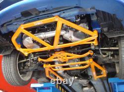 Subaru Impreza GDA/GDB/GGB Front 6-point Subframe & 2 Side Chassis braces