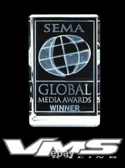 Vms Racing Polished Subframe Brace Tie Bar Black Sway Bar For 96-00 Honda CIVIC